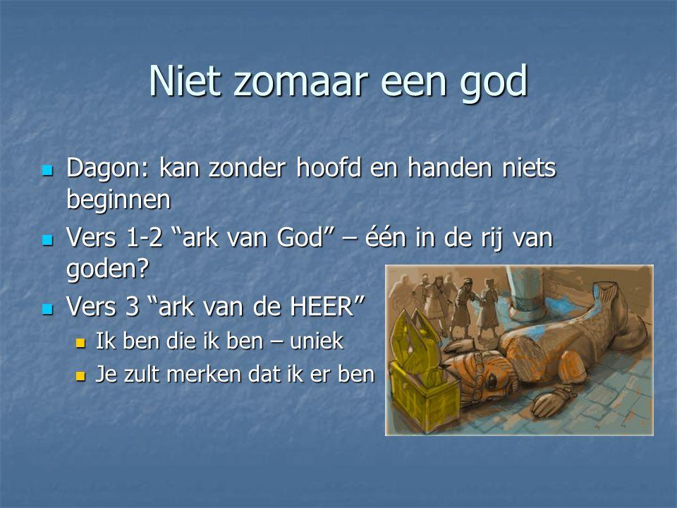 Niet zomaar een god Dagon: kan zonder hoofd en handen niets beginnen