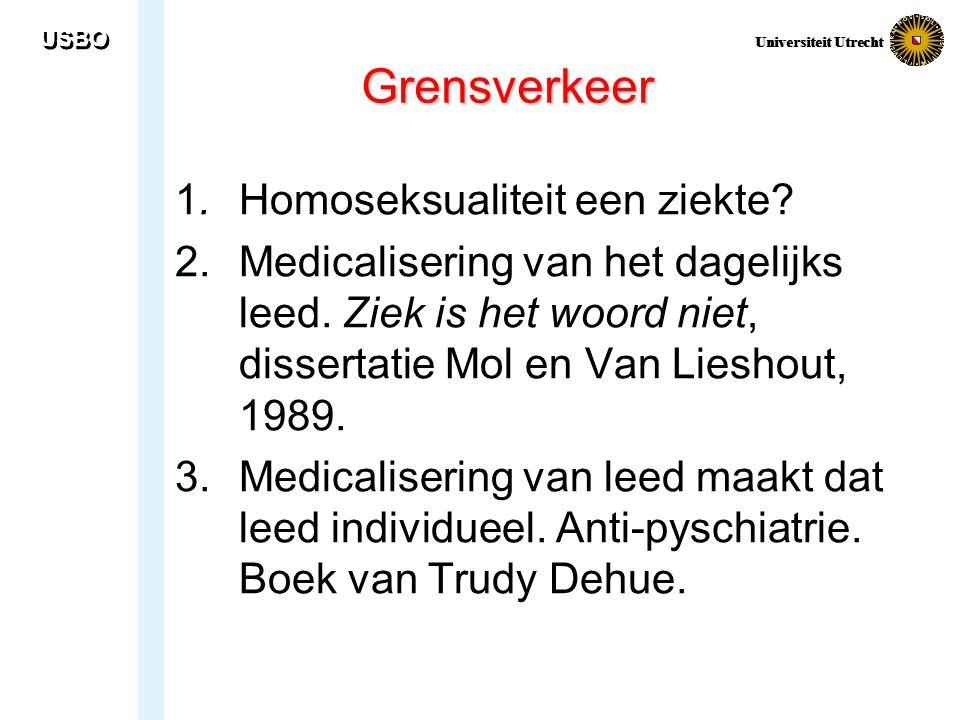 Grensverkeer 1. Homoseksualiteit een ziekte