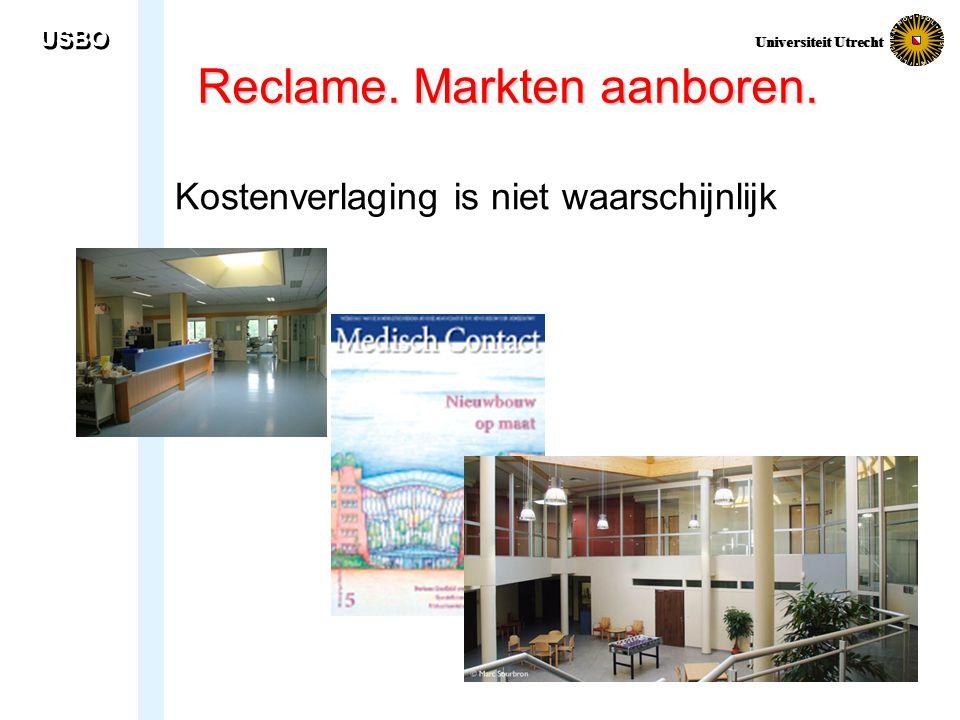Reclame. Markten aanboren.