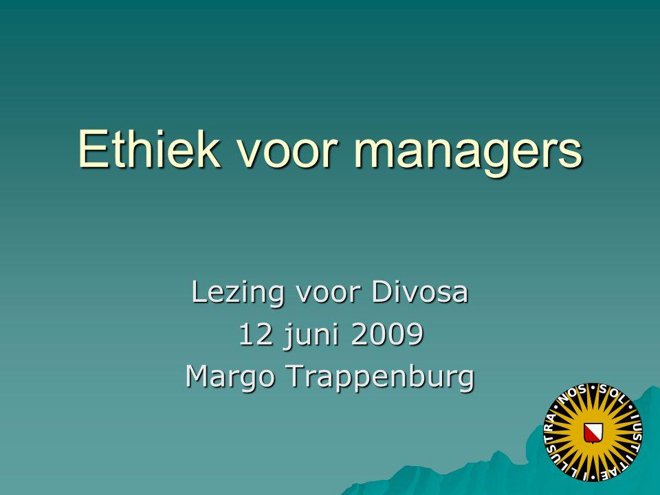 Lezing voor Divosa 12 juni 2009 Margo Trappenburg