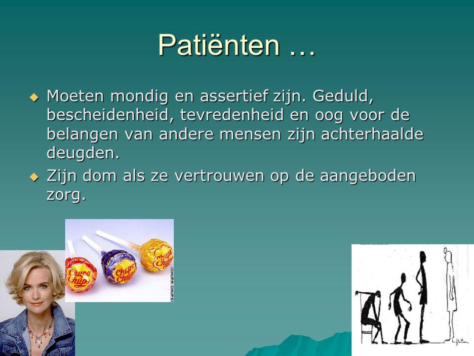 Patiënten …