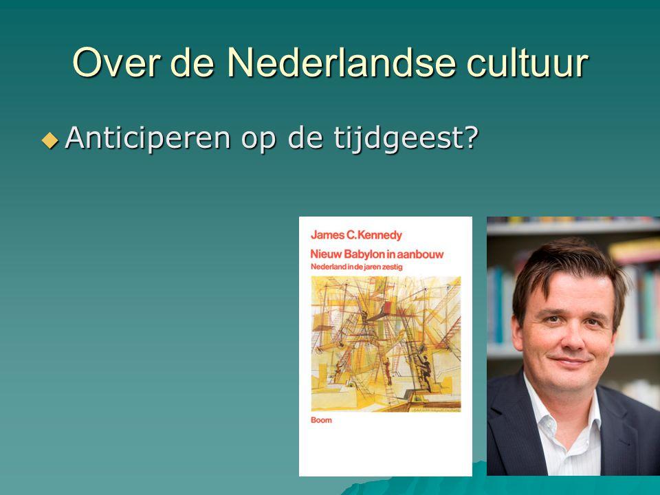 Over de Nederlandse cultuur
