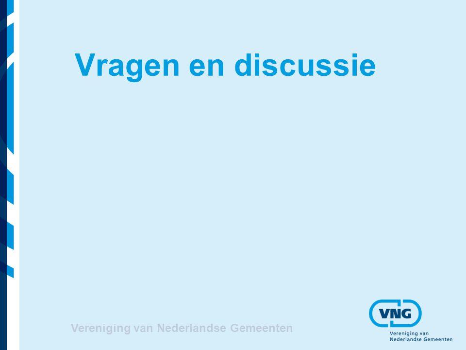 Vragen en discussie Vereniging van Nederlandse Gemeenten