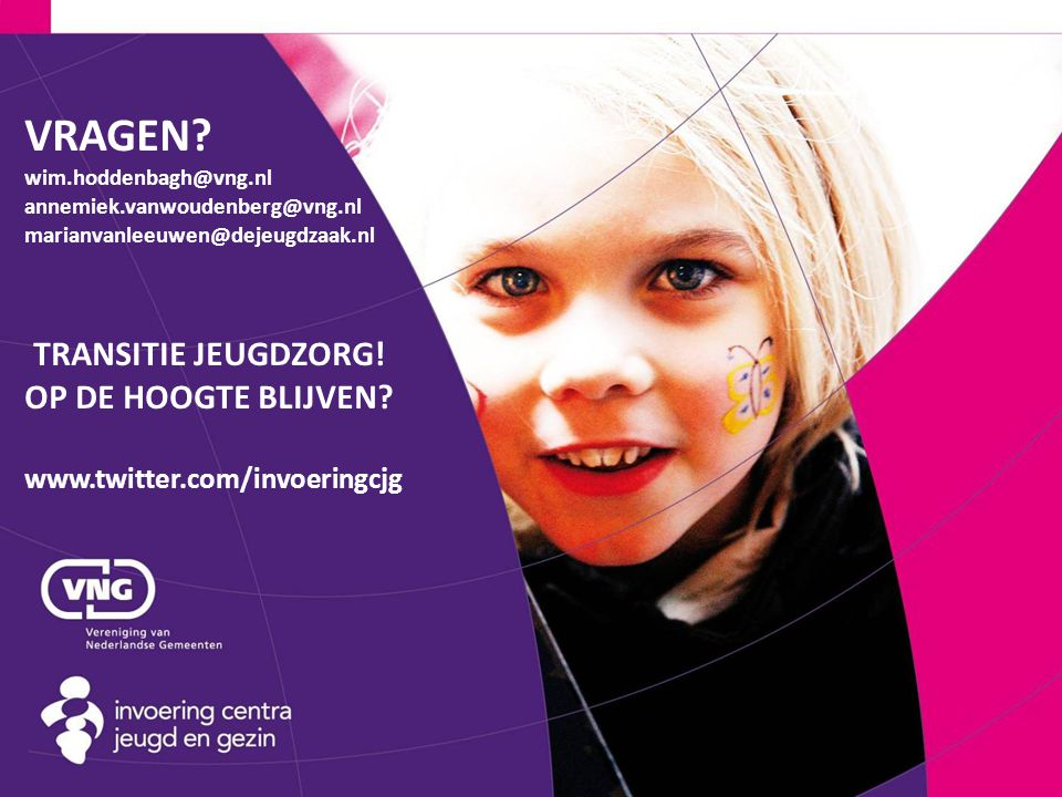 VRAGEN. wim. hoddenbagh@vng. nl annemiek. vanwoudenberg@vng