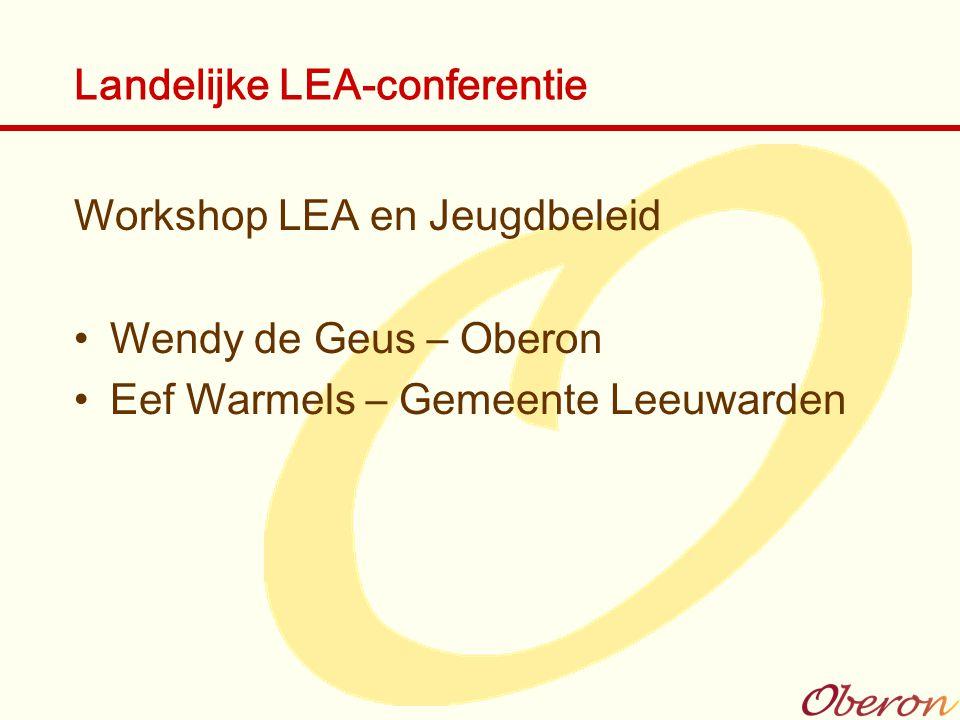 Landelijke LEA-conferentie