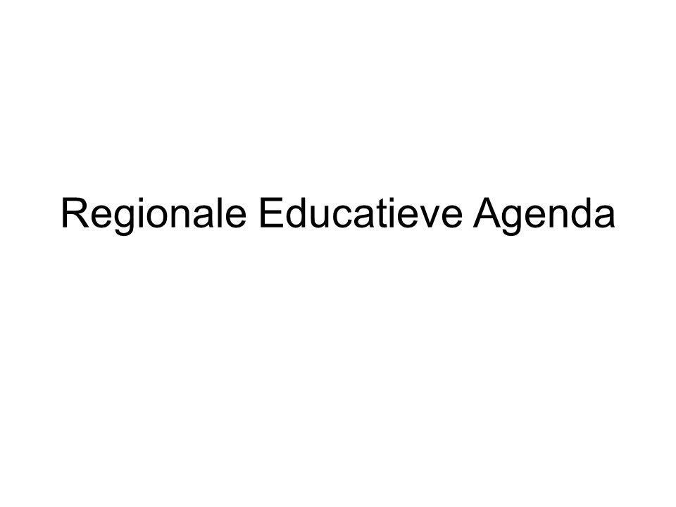 Regionale Educatieve Agenda