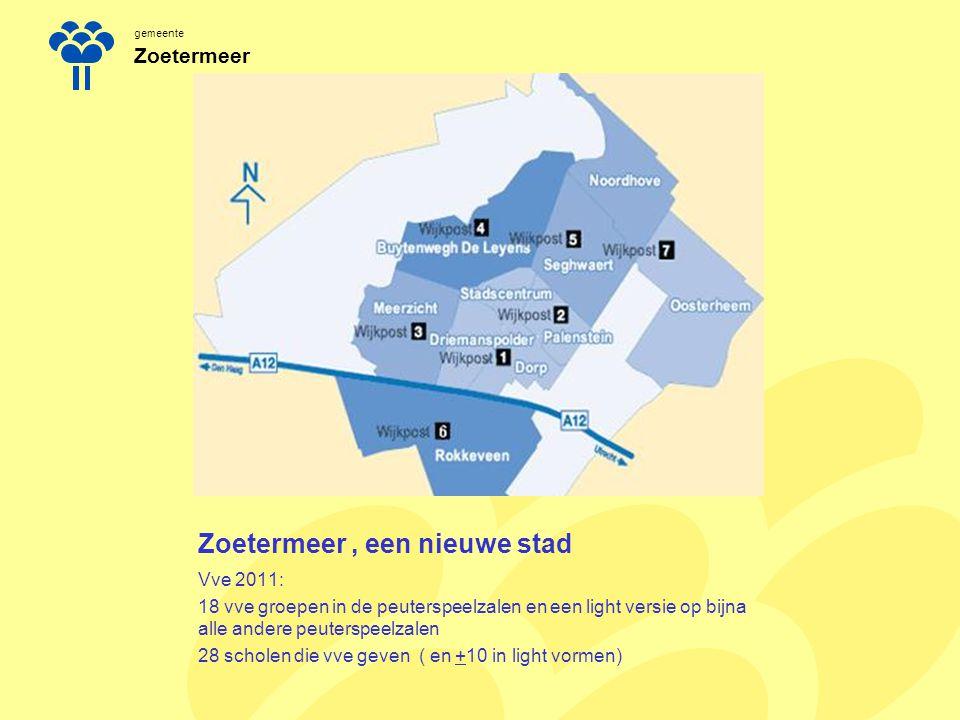 Zoetermeer , een nieuwe stad