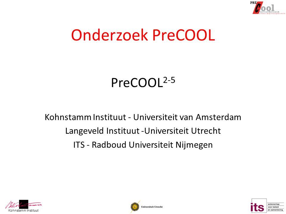 Onderzoek PreCOOL PreCOOL2-5