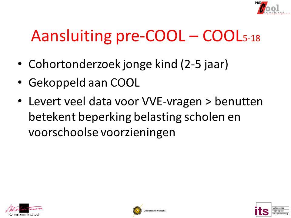 Aansluiting pre-COOL – COOL5-18
