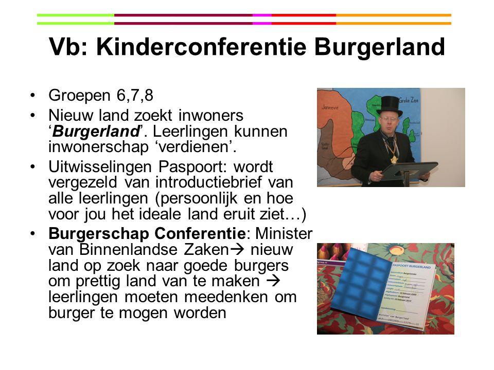 Vb: Kinderconferentie Burgerland