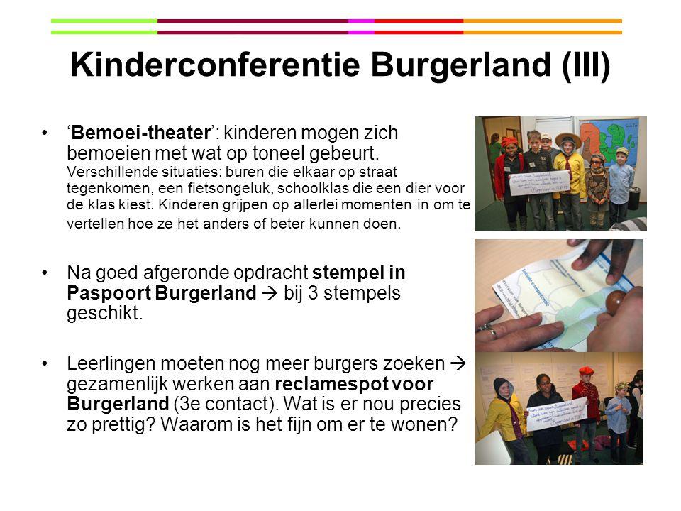 Kinderconferentie Burgerland (III)