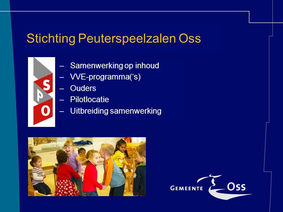Stichting Peuterspeelzalen Oss