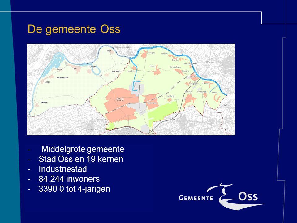 De gemeente Oss - Middelgrote gemeente Stad Oss en 19 kernen