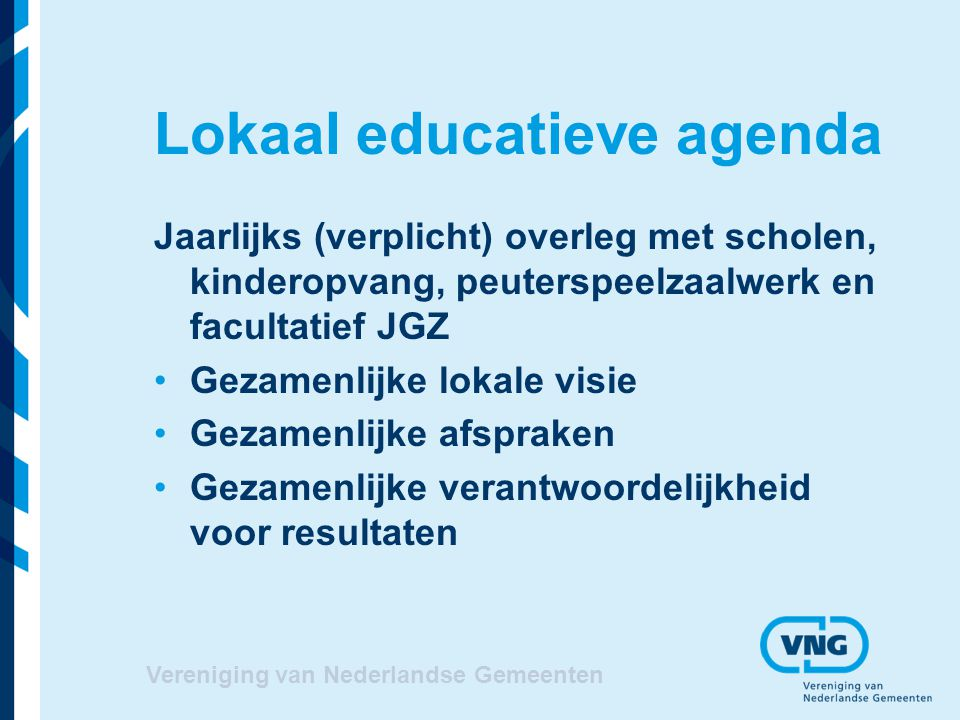 Lokaal educatieve agenda