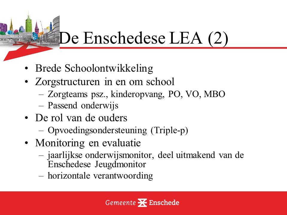 De Enschedese LEA (2) Brede Schoolontwikkeling