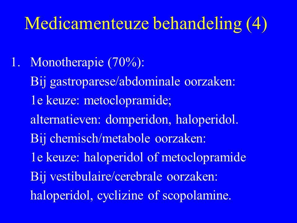 Medicamenteuze behandeling (4)