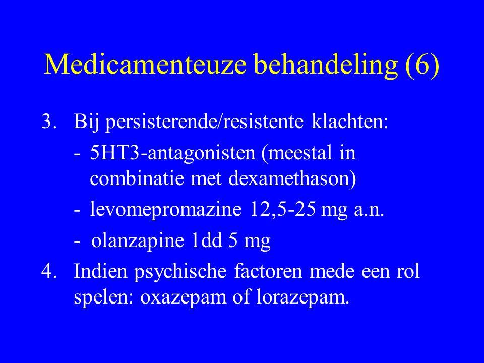 Medicamenteuze behandeling (6)