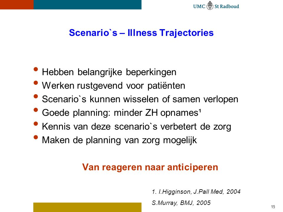 WHO definitie: Wat is Palliatieve Zorg