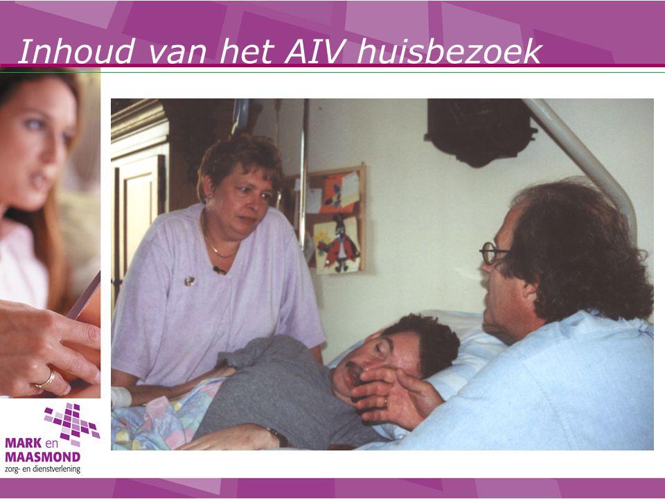 Inhoud van het AIV huisbezoek