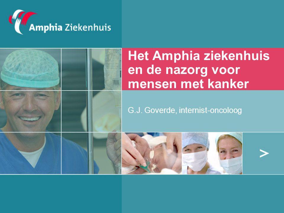 Het Amphia ziekenhuis en de nazorg voor mensen met kanker