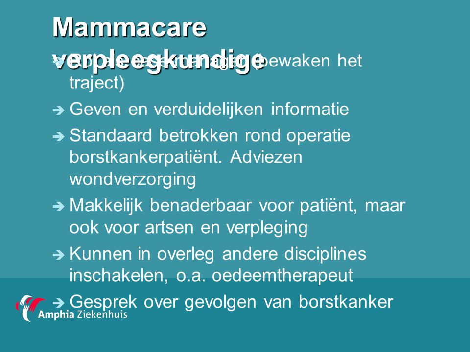 Mammacare verpleegkundige