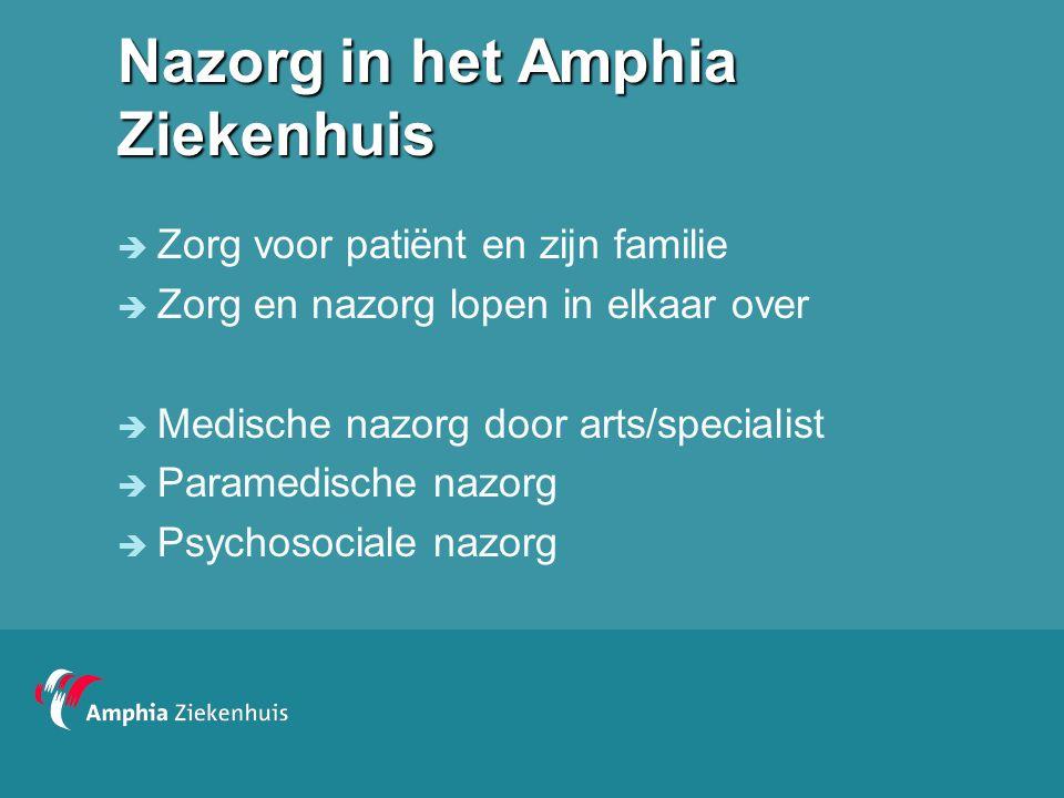 Nazorg in het Amphia Ziekenhuis