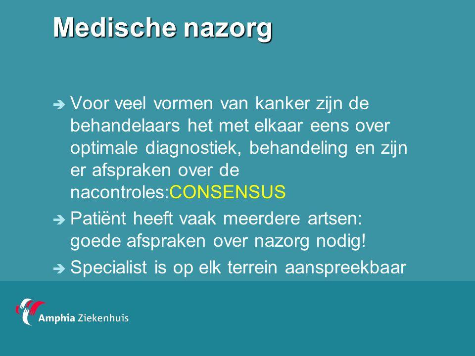 Medische nazorg
