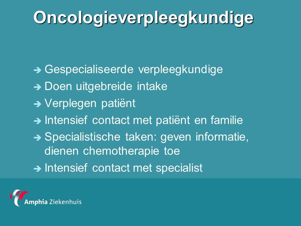 Oncologieverpleegkundige