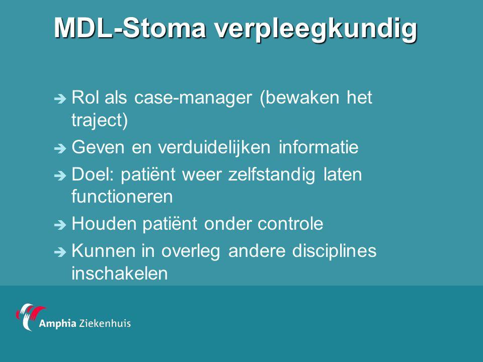 MDL-Stoma verpleegkundig