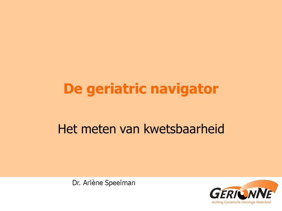 De geriatric navigator