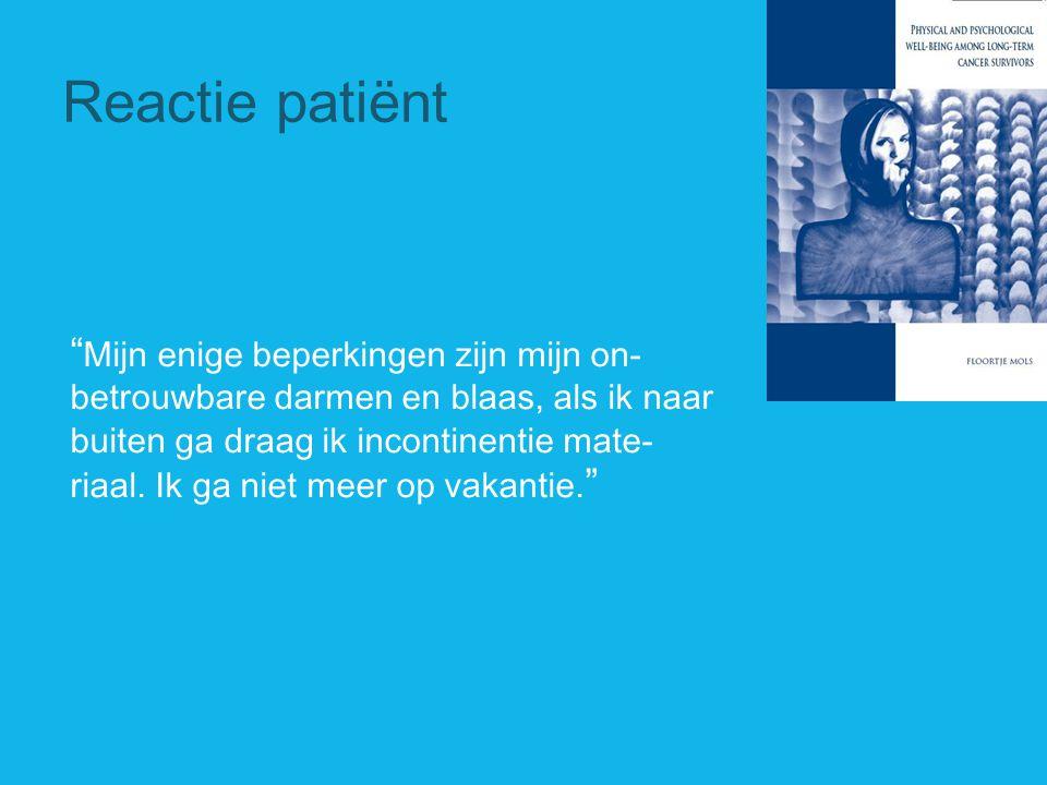 Reactie patiënt