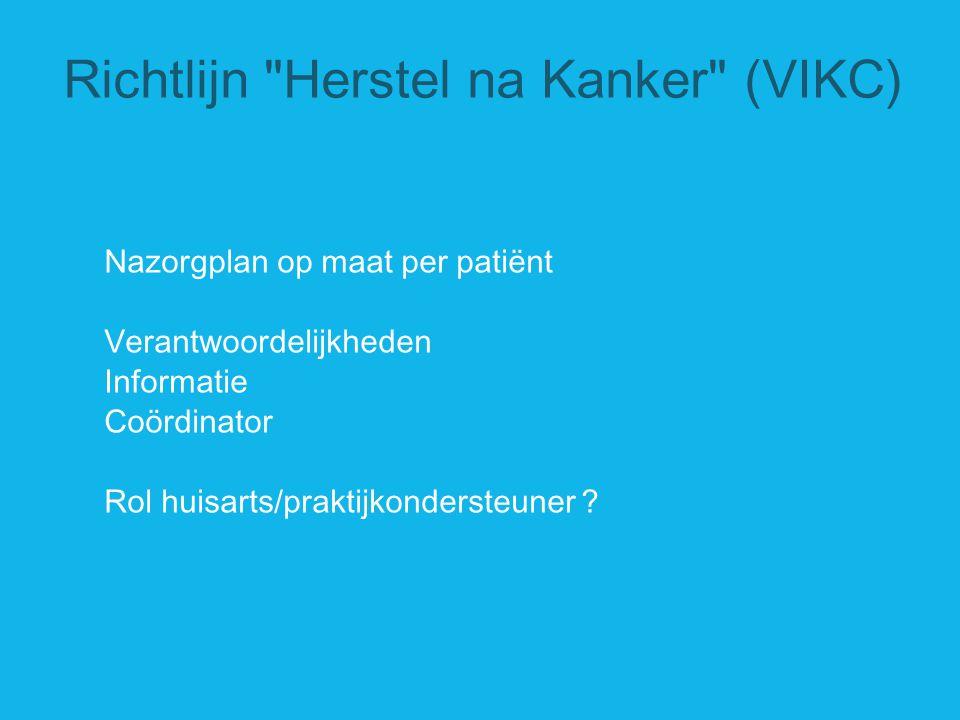 Richtlijn Herstel na Kanker (VIKC)