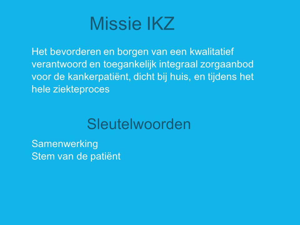 Missie IKZ Sleutelwoorden