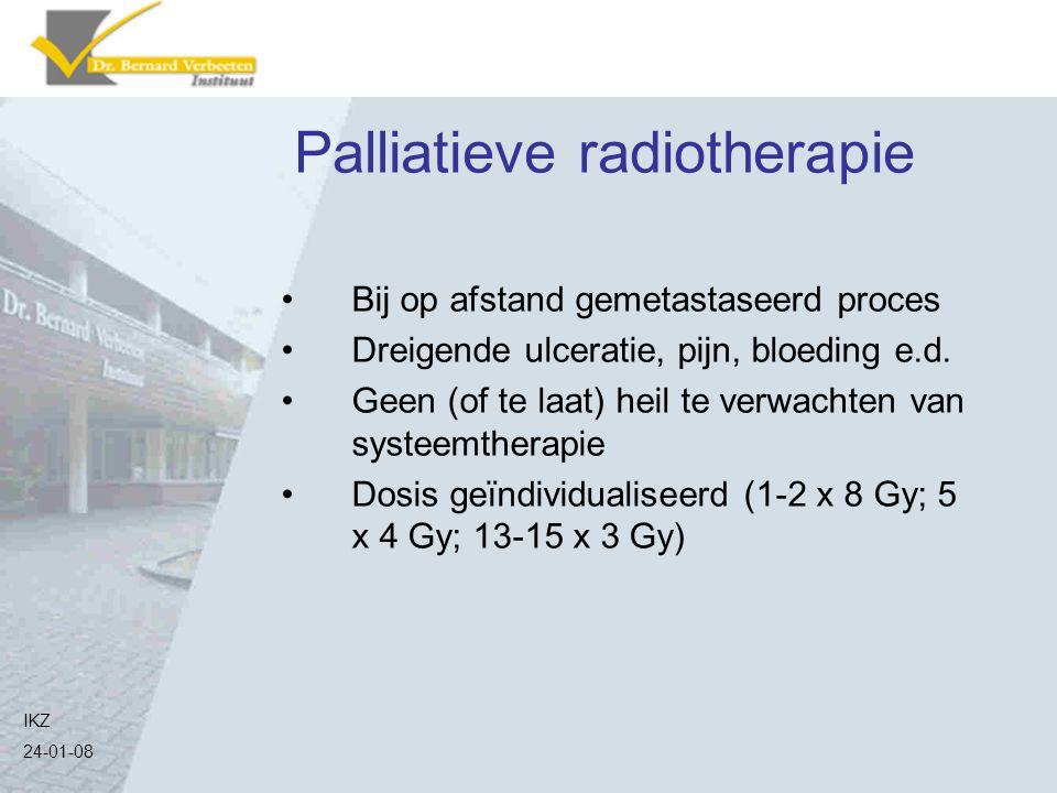 Palliatieve radiotherapie