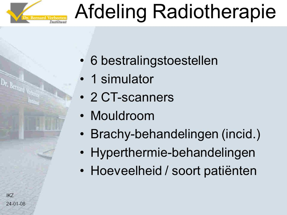 Afdeling Radiotherapie