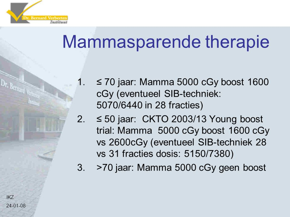 Mammasparende therapie
