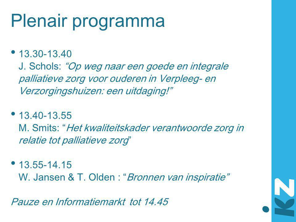 Plenair programma 13.30-13.40.