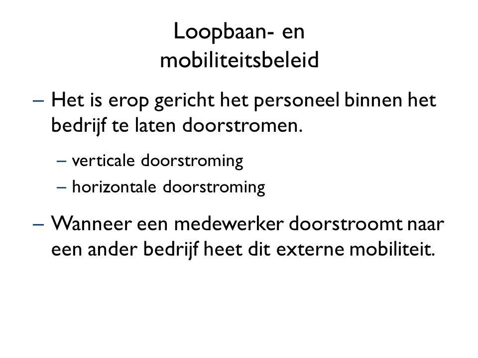 Loopbaan- en mobiliteitsbeleid