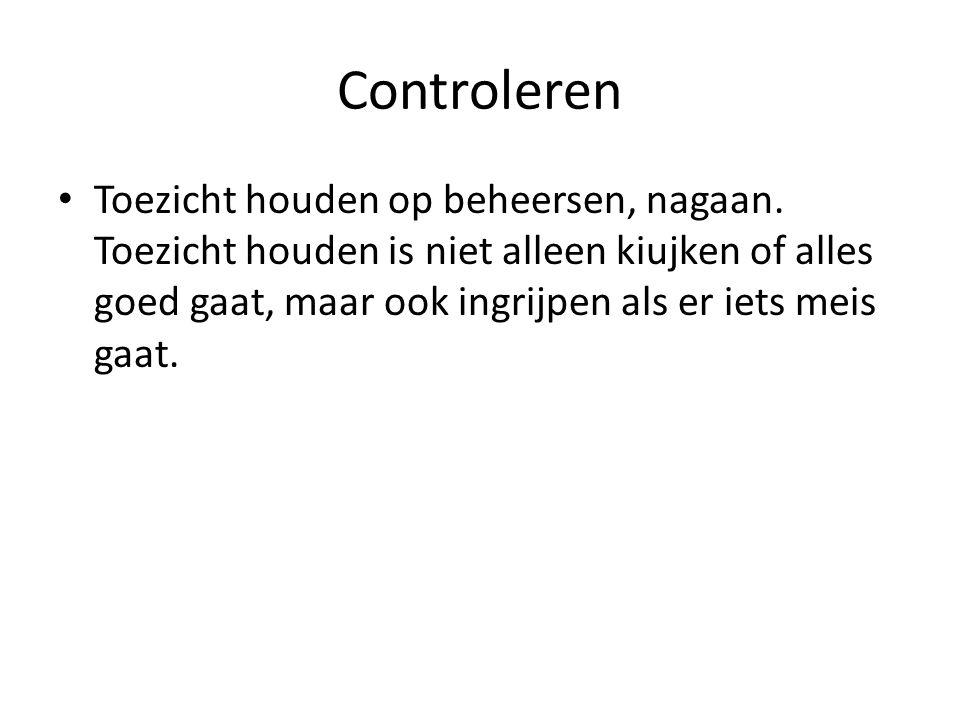 Controleren