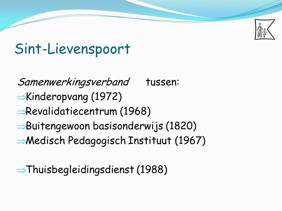 Sint-Lievenspoort Samenwerkingsverband tussen: Kinderopvang (1972)