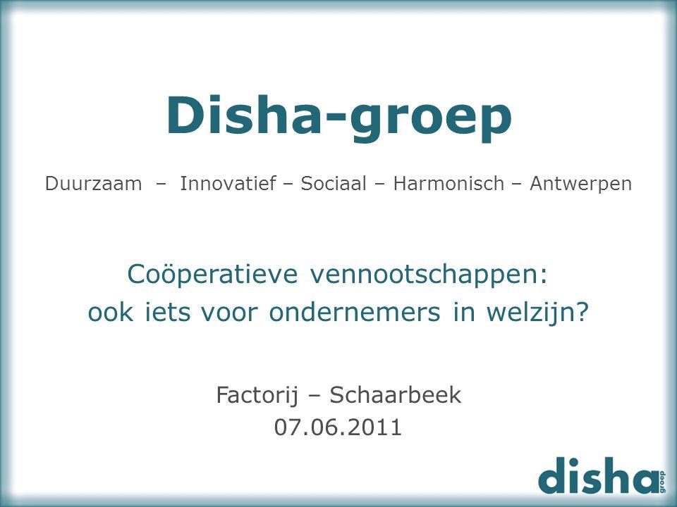 Duurzaam – Innovatief – Sociaal – Harmonisch – Antwerpen