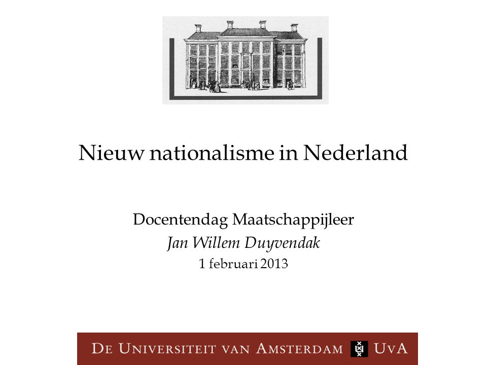 Nieuw nationalisme in Nederland