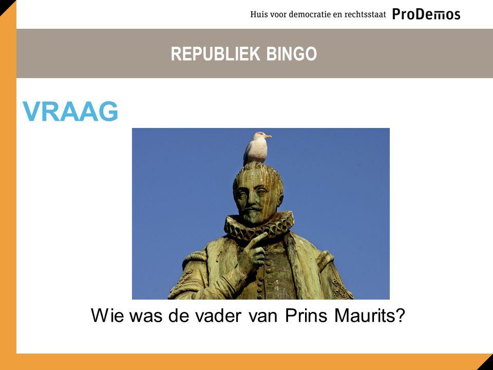 Wie was de vader van Prins Maurits