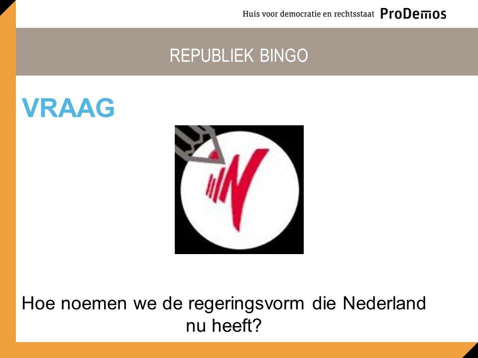 Hoe noemen we de regeringsvorm die Nederland nu heeft