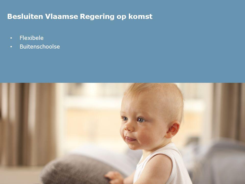 Besluiten Vlaamse Regering op komst