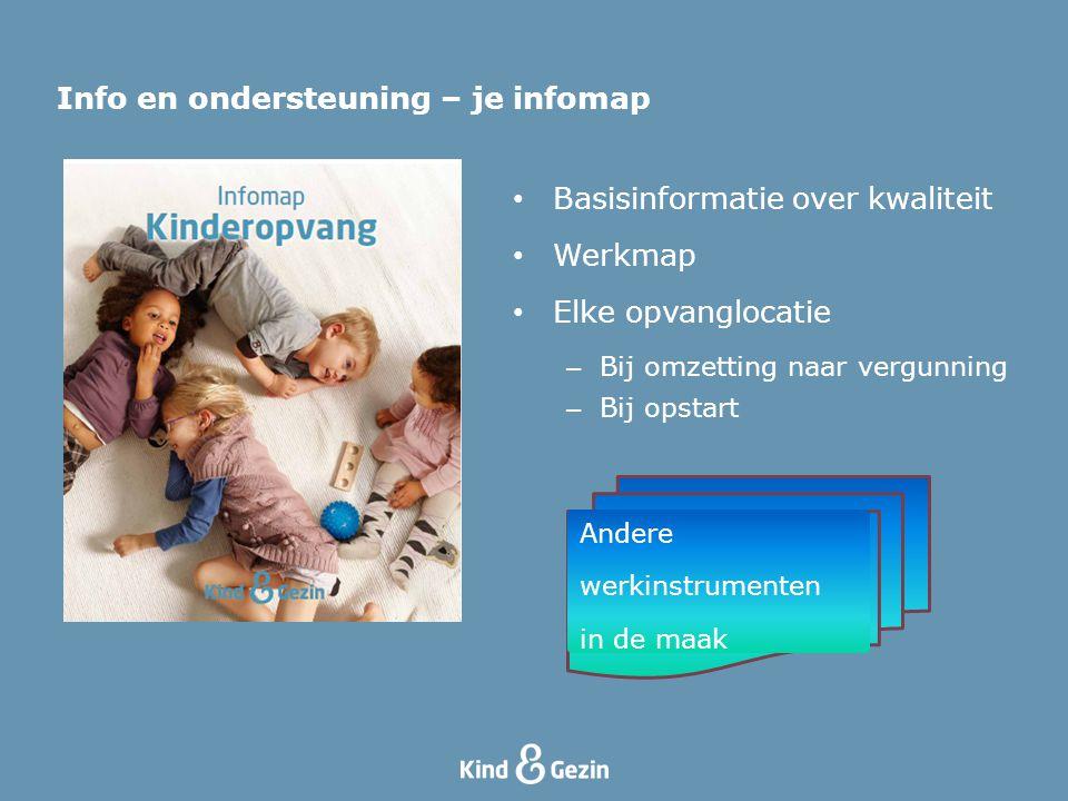 Info en ondersteuning – je infomap