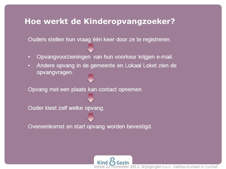 Hoe werkt de Kinderopvangzoeker