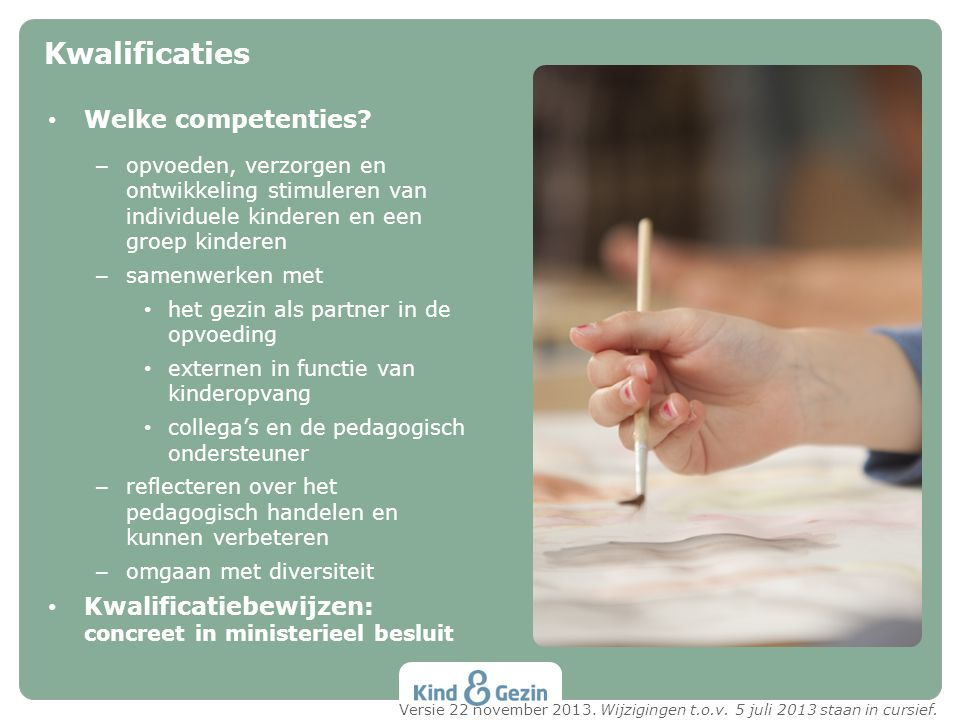 Kwalificaties Welke competenties
