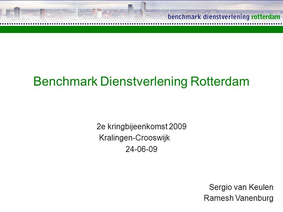 Benchmark Dienstverlening Rotterdam
