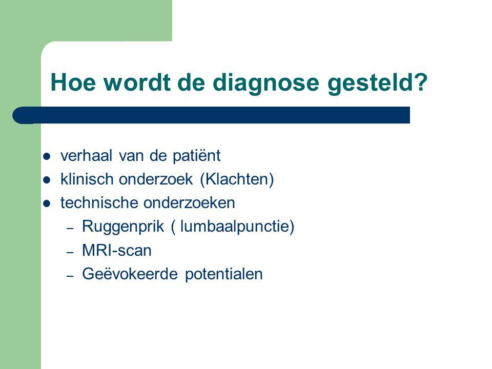 Hoe wordt de diagnose gesteld